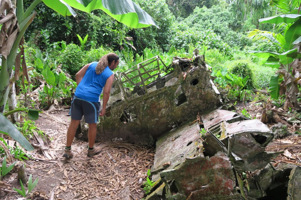 Peleliu's Jungle secrets, Palau.
