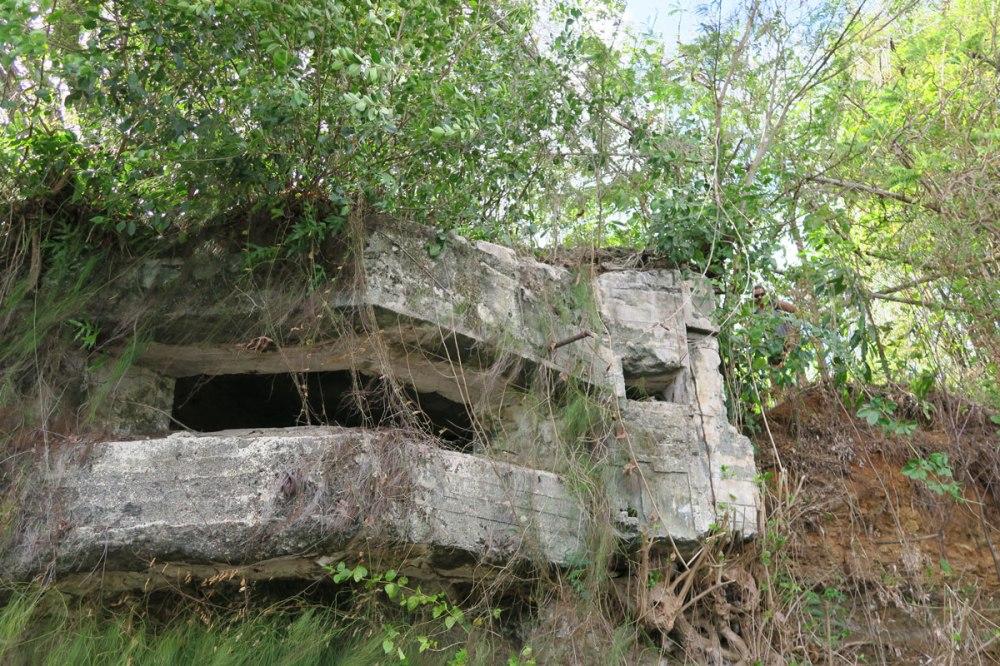 Palau's many Japanese bunkers