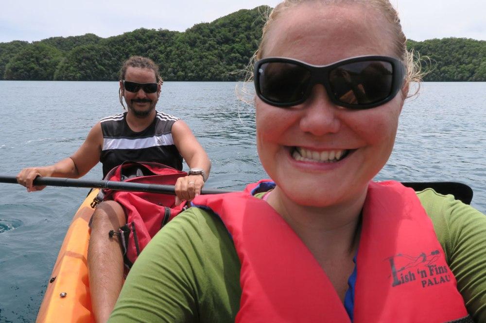 Heini's selfie skills, Palau