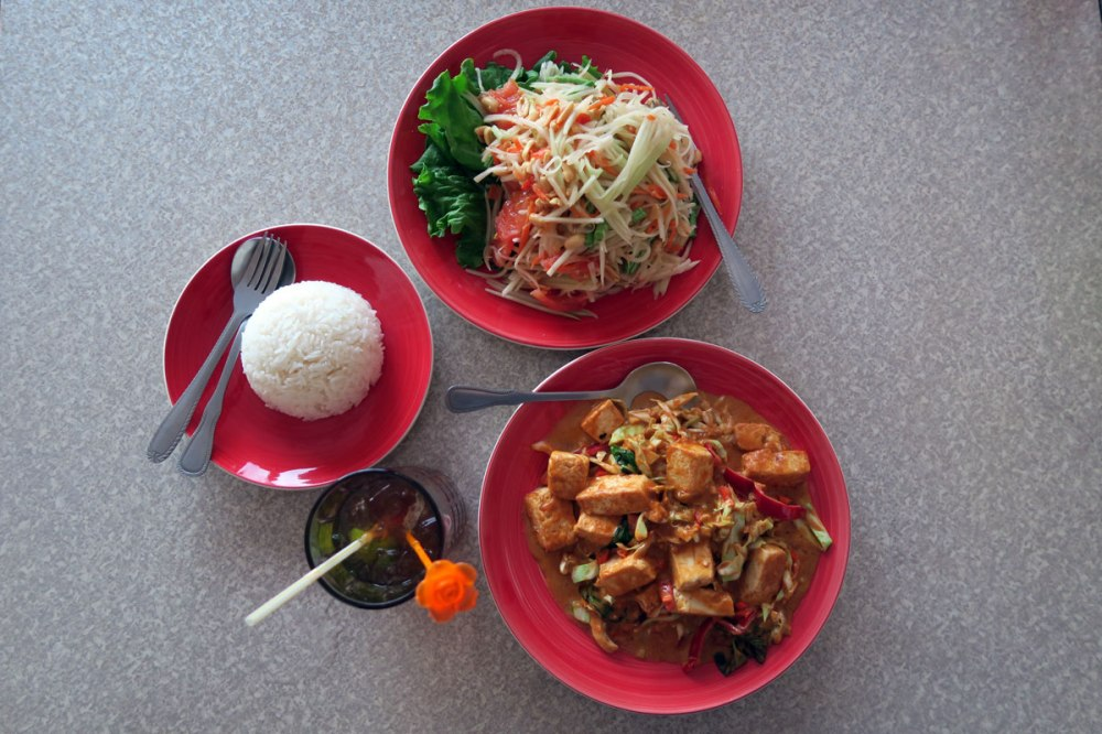 Vegan thai food Palau