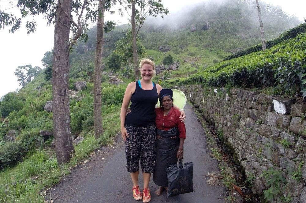 Haputale hiking Lipton Seat Sri Lanka.