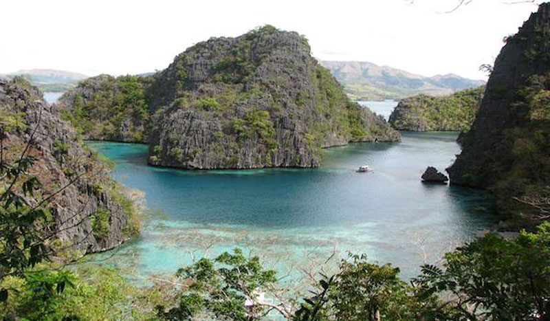 Palawan's waters are teeming with history