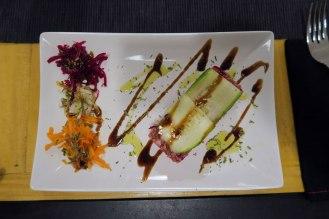 Quinoa salad in Luna Rossa.
